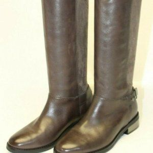 Cole Haan Adler Tall Brown Riding Boots EUC